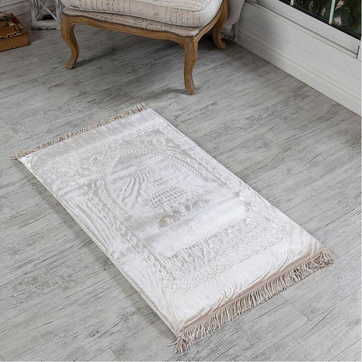 سجادة صلاة فوم سادة لون سكري فاتح Carpet Decor Rugs