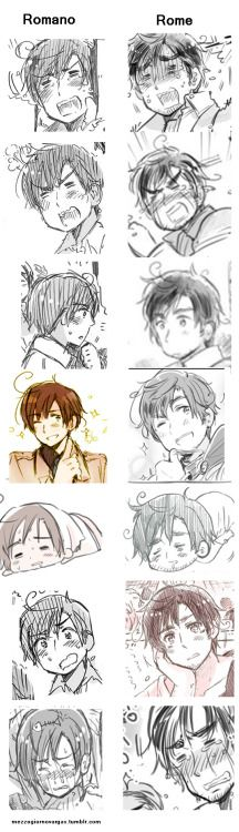 This brings up my headcanon that Romano looks more like Rome than Italy does. << accepted