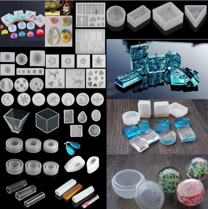 Nuevo Molde de Silicona Molde de fundición de Joyería Colgante de resina de bricolaje handmake Crafts Hacer