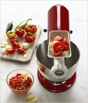 A few recipes for KitchenAids via Macys