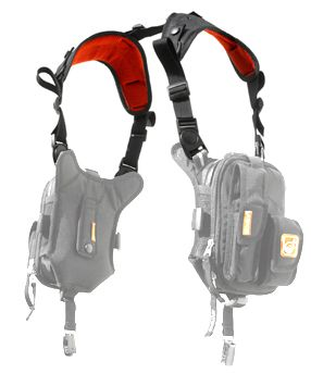 Shop Civilian(R) Covert Anatomic RG(TM) Padded Deluxe Shoulder Harness - Outdoor, Military, and Pro Gear - We Ship Internationally