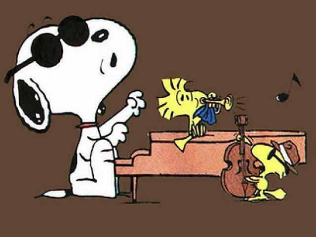 Snoopy Wallpaper by !!Snoopy, via Flickr