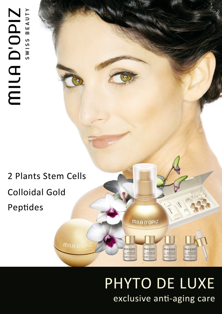 Mila d'Opiz Australia - Phyto De Luxe. The Golden Point of Beauty.