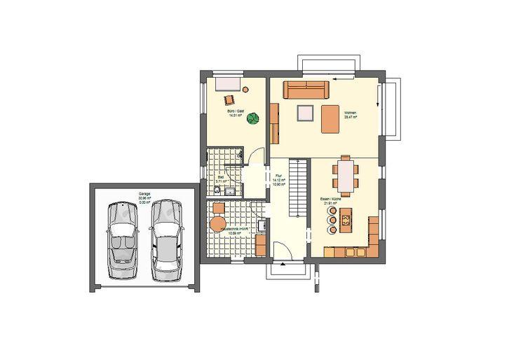 Öko-domo Massivhaus Grundrisse