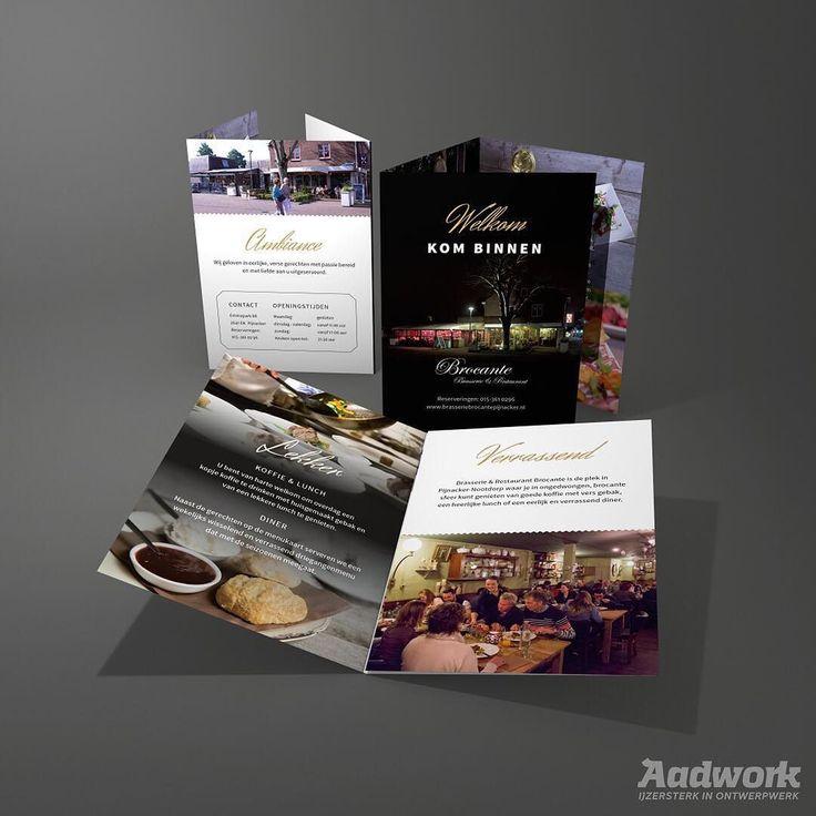 Flyer ontwerp. Drieluik in full color. - #graphic #design #adobe #adobecc #InDesign #brochure #flyer #food #layout #Instagood #Picoftheday #Like4like #Instadaily #Igers #Tagsforlikes #bink36 #denhaag #thehague #aadwork