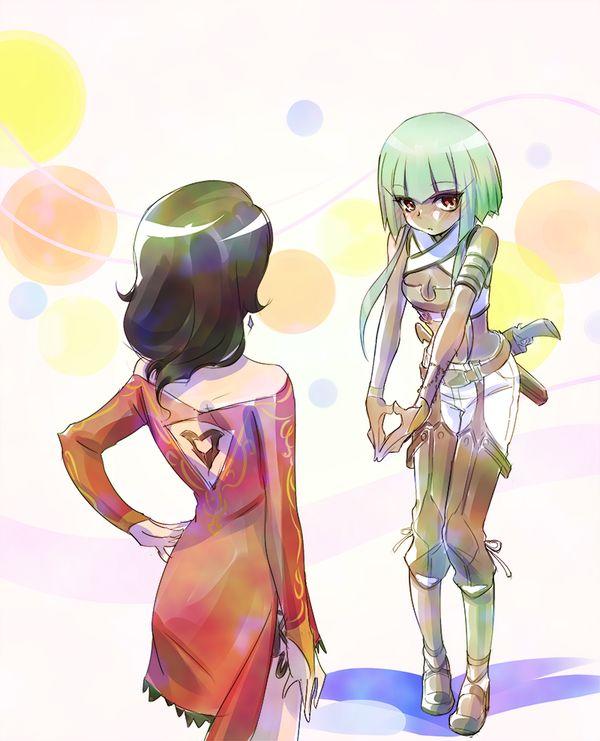 Cinder and Emerald. RWBY Season 2