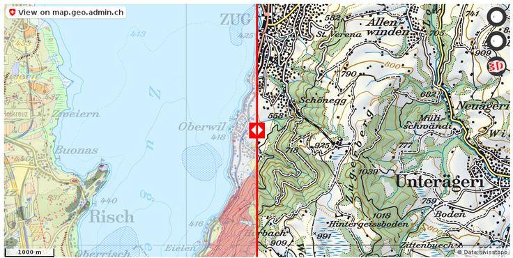 Zug ZG Geologie Boden http://ift.tt/2sJRTv6 #geodaten #mapOfSwitzerland