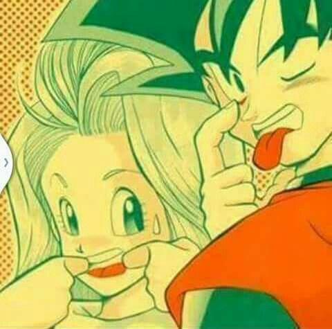 Bulma and goku//Happy Goku Day