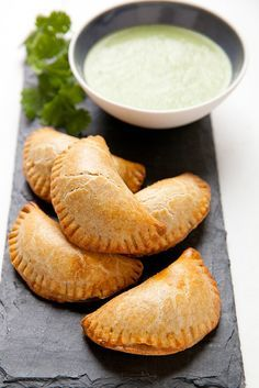 Roasted Veggie Empanadas #recipe #appetizer #vegetarian