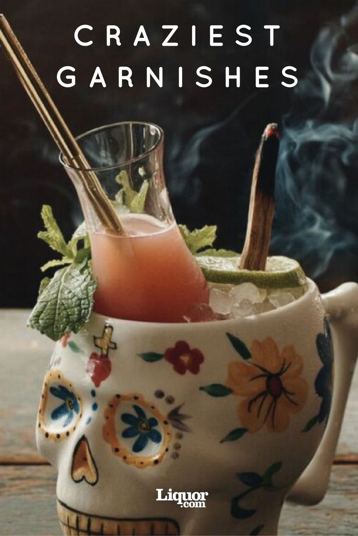 14 Cocktail Garnishes You'll Want to Copy: Twists are so passé.