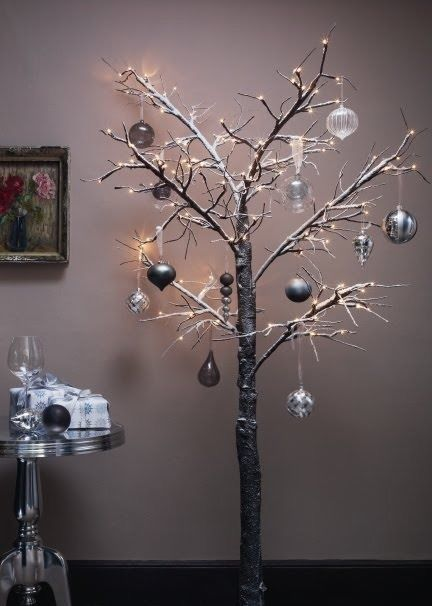 Best 25+ Pre lit twig tree ideas on Pinterest | Twig tree, Twig ...