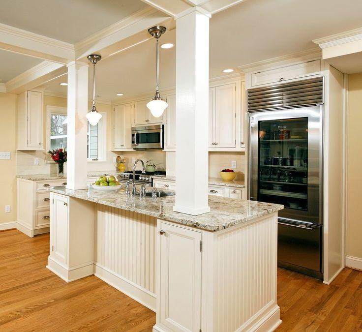 23 best bloody post images on pinterest kitchen islands - Kitchen island with post ...