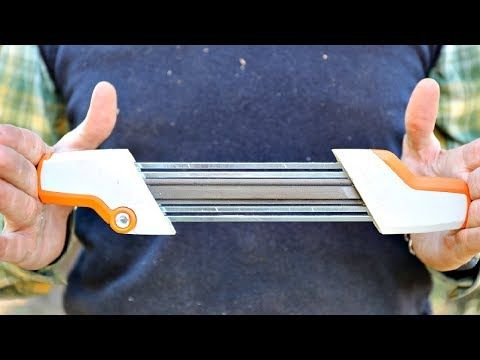 Best Chainsaw Sharpener Ever - FINALLY!!! - YouTube