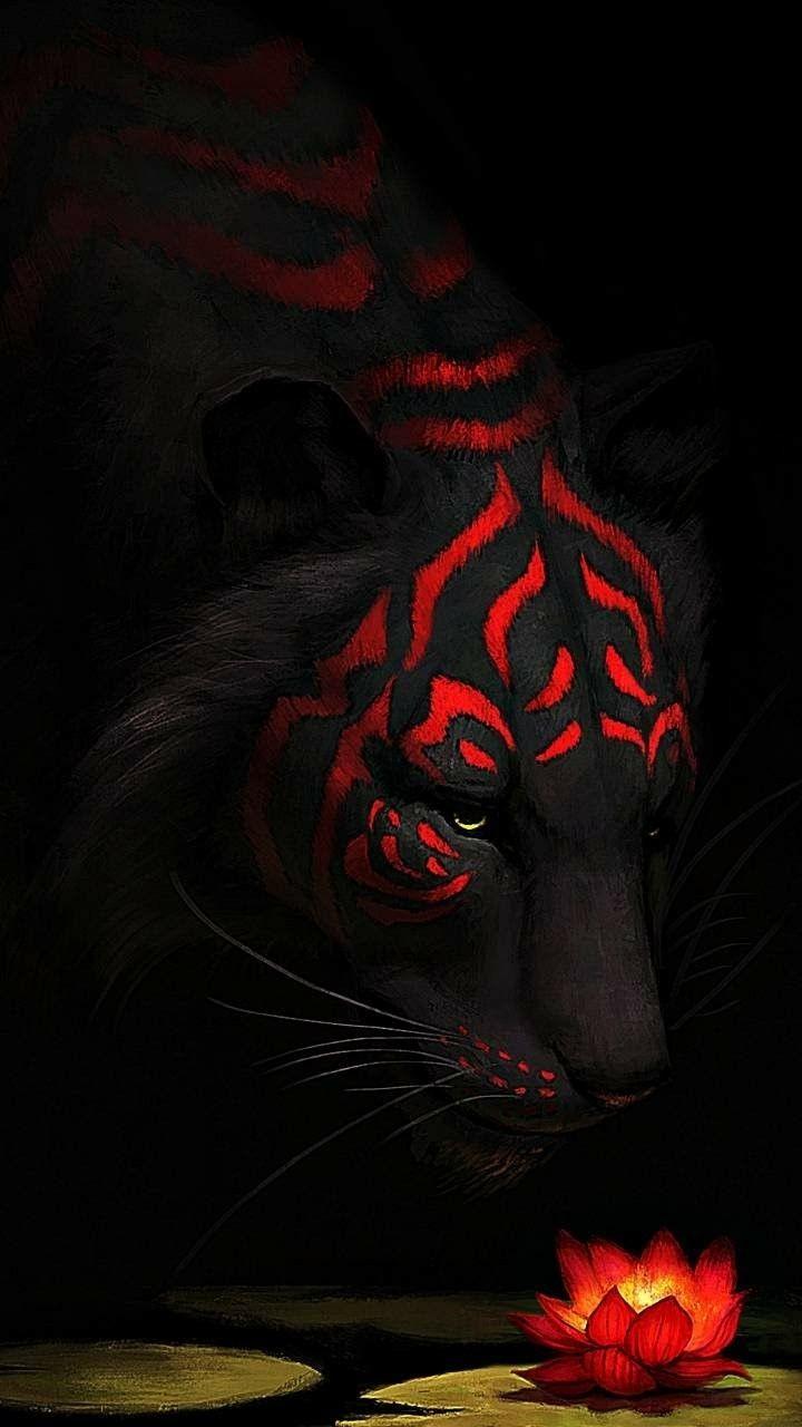 Cute Drawings Wallpapers Of Cats Red Tiger Tiger Art Big Cats Art Lion Art