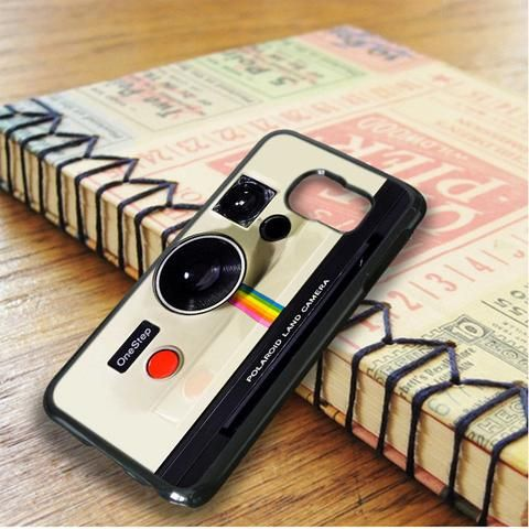 Polaroid Caamera Clasic Design Samsung Galaxy S6 Edge Case