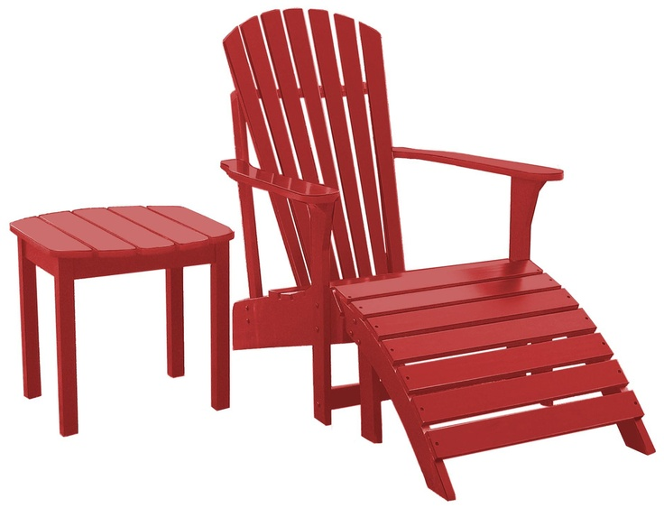Free adirondack chair footrest plans woodworking for Adirondack side table plans