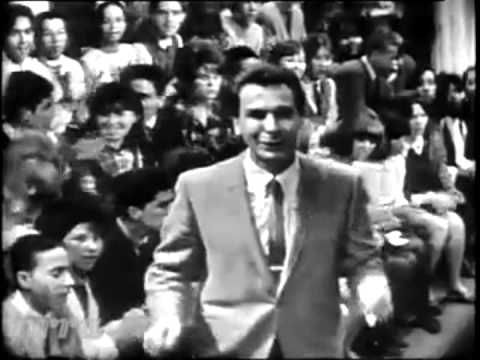 """Freddie Cannon """"Tallahassie Lassie""""... Live on American Bandstand. December 12, 1964."""