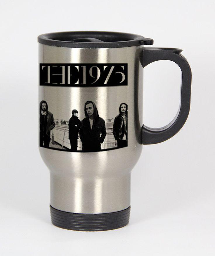 The 1975 band travel mugs coffee mug tea mug Size 14oz One Size Stainless Steel