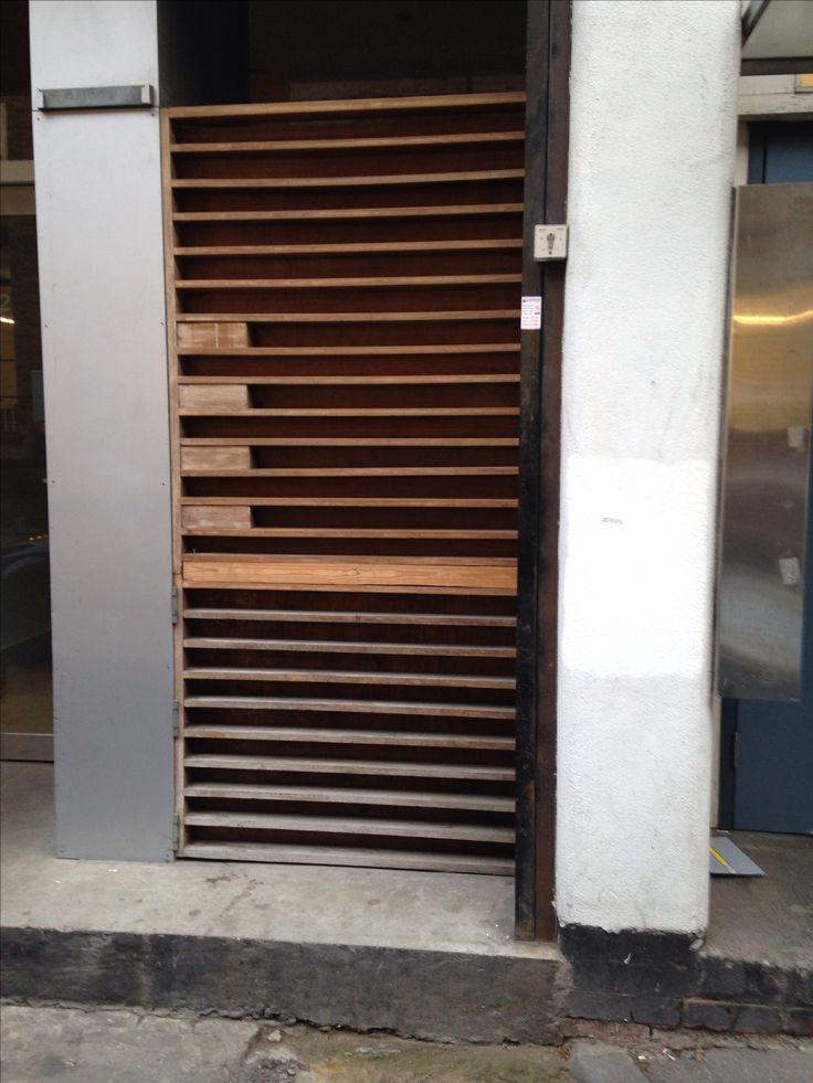 East London door