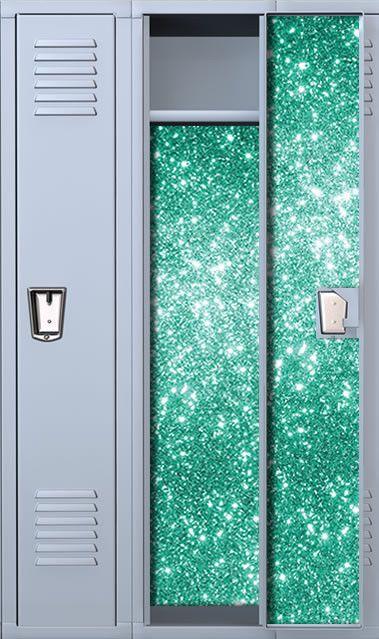 Fairy Dust: Jade Magnetic School Locker Wallpaper Set #StickIt2Me