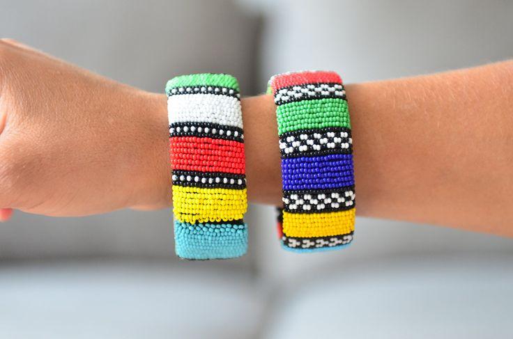 Bantuproject.com - Zulu beaded bracelets