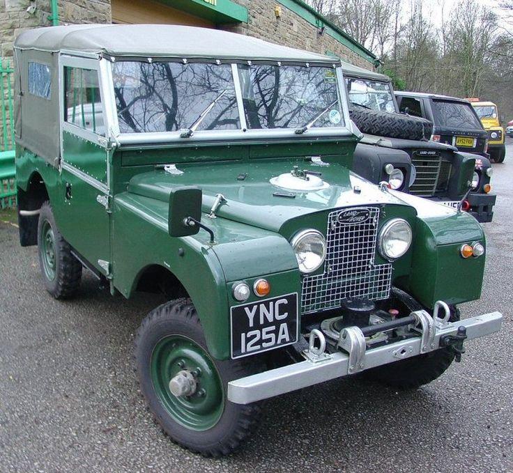 "86 Land Rover >> // Land Rover Series 1 86"" | Land Rover | Pinterest"