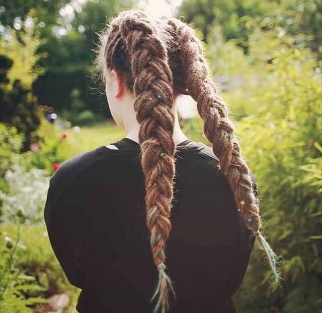 Goals! My Dread-Braids never look like this