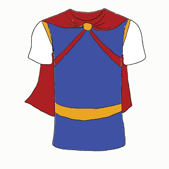 Snow Prince Snow White Inspired Tshirt Cotton by ChicByAmber