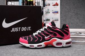 the best attitude aad72 57b28 Nike Air Max Plus TN KPU Pink Black White Womens Shoes ...