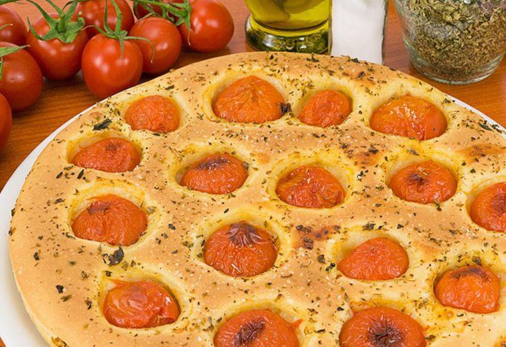 focaccia pomodori origano #bread #tomato #ricettedisardegna #sardegna #sardinia #food #recipe