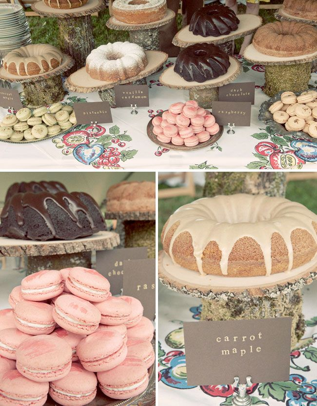 this is the idea, several cakes for different flavors
