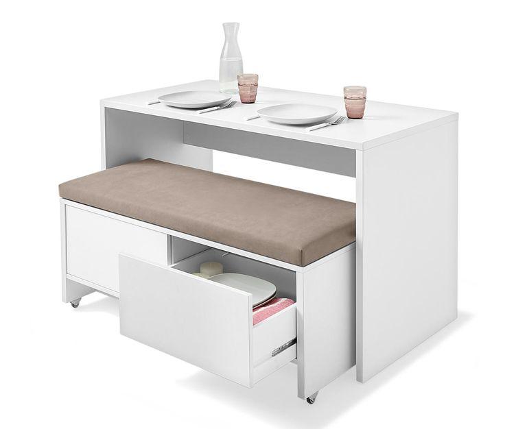 tisch und bank set tchibo platzsparende mbelkleine kchenkleine - Kleine Kche Esstisch Ideen