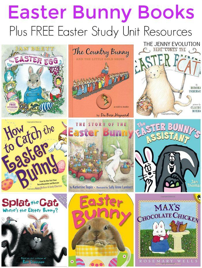 delightful childrens easter bunny books plus free easter study unit resources for classroom and homeschool