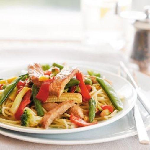 Ginger pork stir-fry | Healthy Food Guide