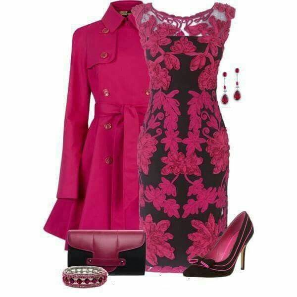 184 best Fuchsia Outfits images on Pinterest | Kate spade, Outfits ...