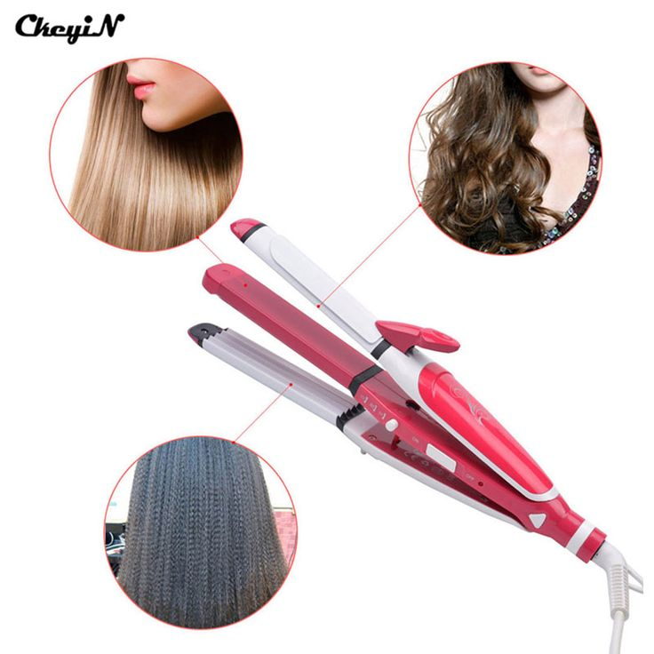 Hair Curler Roller Curling Wand Iron Curl Styler Tools Machine Styling Perm Curlers Ceramic Straightener Corn Irons Plate -S5050