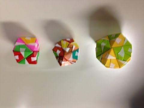 クリスマス 折り紙 折り紙 玉 折り方 : pinterest.se