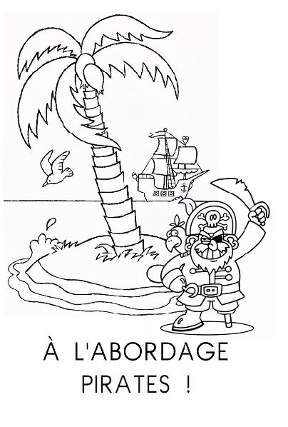 52 best ma classe maternelle moyenne et grande sections - Jack le pirate dessin ...
