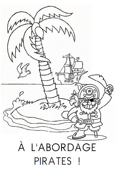 Fichier de lecture thématique (les pirates) pour moyenne et grande section de maternelle.