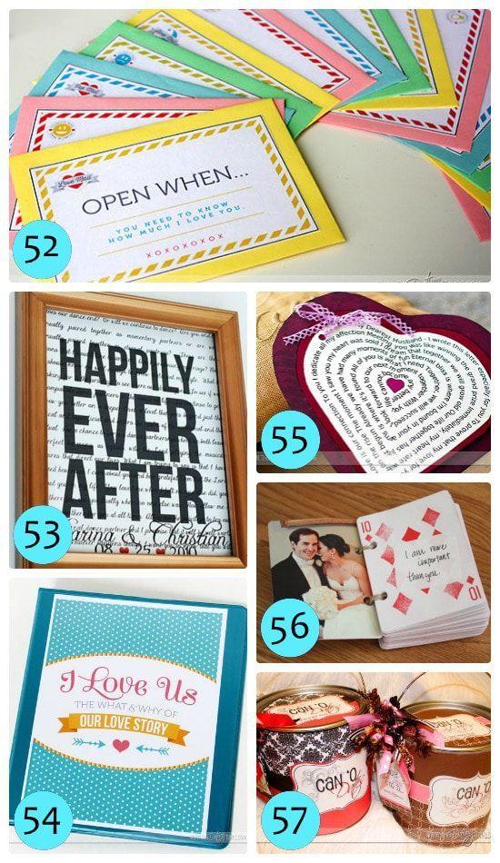 DIY romantic Christmas gifts for men #boyfriendgifts