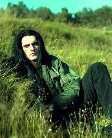 Peter Steele from Type O Negative. The worlds sexiest voice. RIP.