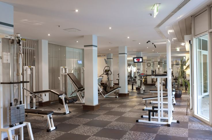 fitness area at Radisson Blu Park Hotel & Conference Centre, Dresden Radebeul