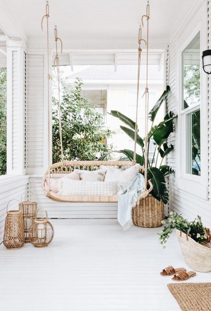 Patio Swing Boho Style Home Style Dream Decor Patio Lounge