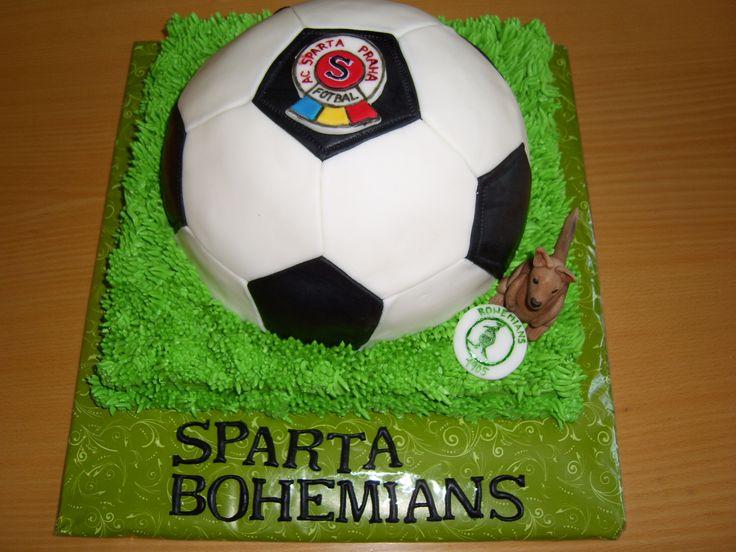 cake ball dort fotbalový míč