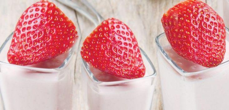 Eύκολη μους φράουλας – Χρυσές Συνταγές