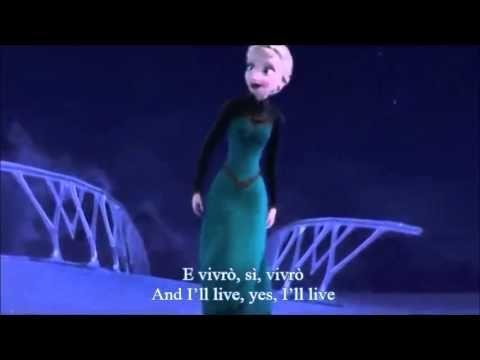 Let it go (Italian) Subs + multi-Trans - YouTube