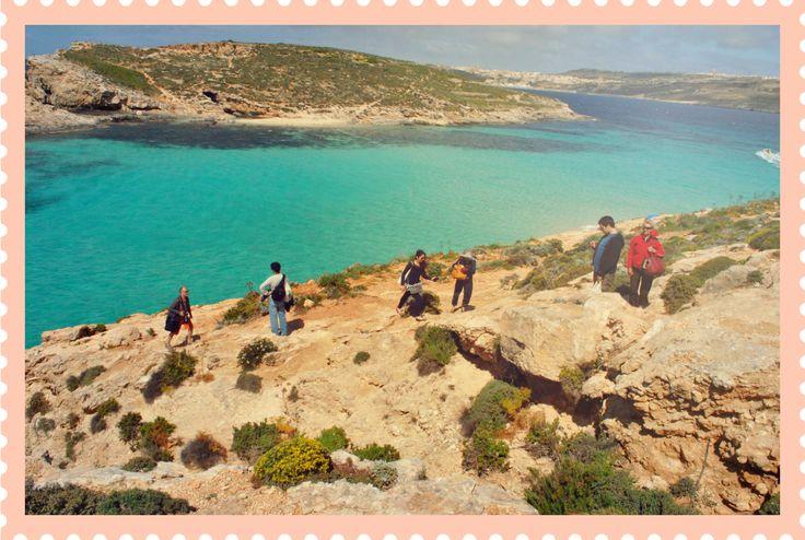 Postcard from #Comino #Malta ... amazing turquoise sea!!!