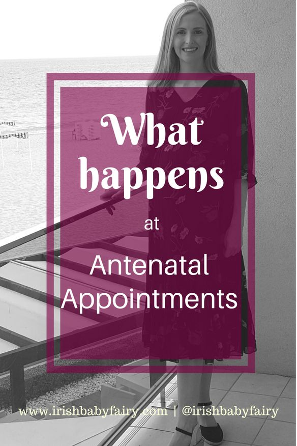 Ever wondered what exactly happens at antenatal appointments? I have it all covered here for you! #maternity #antenatal #pregnancy