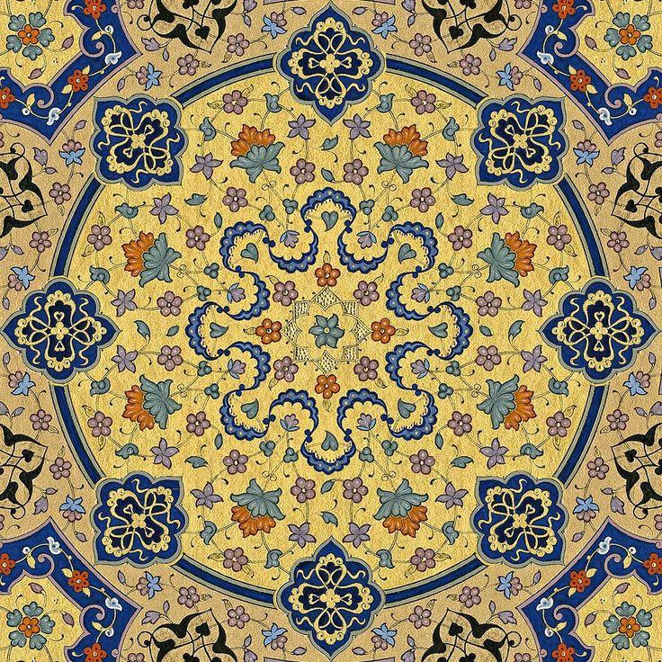 "905 Beğenme, 31 Yorum - Instagram'da Müzehhibe#İllumination artist (@fatmaozcay): ""Klasik tezhib detay/classic tazhib detay #illumination #design #finearts #gilding #islamicart…"""