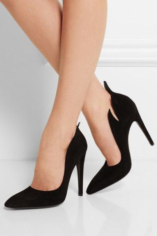 Bottega Veneta|Suede pumps, Do these work in your fall wardrobe? http://keep.com/bottega-veneta-suede-pumps-net-a-portercom-by-dalabooh/k/2ihSVEABIZ/ #escherpe